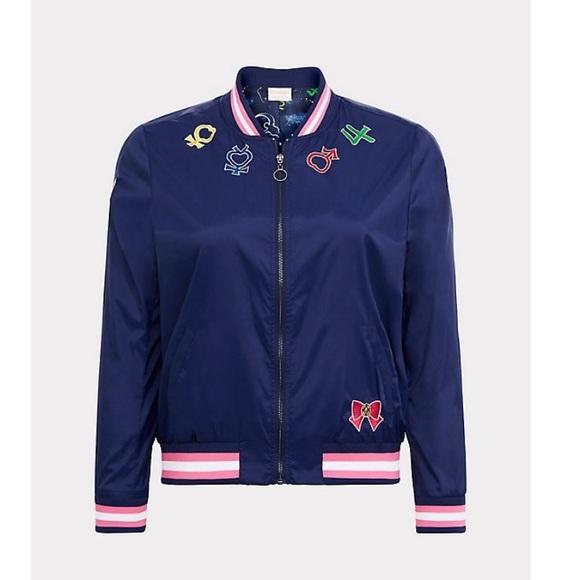 8be4bde1e1 torrid Jackets & Coats | Sailor Moon Patch Bomber Jacket | Poshmark